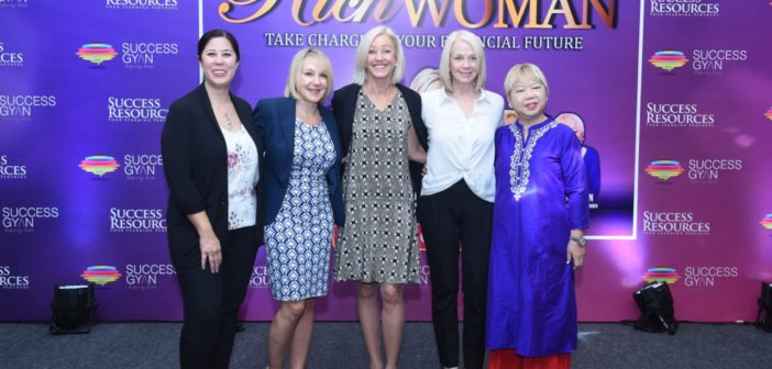 Success Gyan presents the 'Rich Woman Event' a unique women only seminar on financial freedom featuring founder Kim Kiyosaki, Veronica Tan and Many others