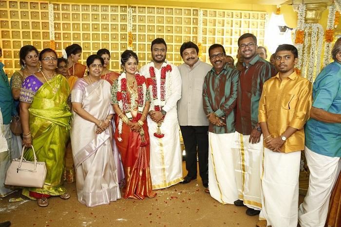 Actor Charlie elder Son Adhithiya Charlie weds Amritha Stills