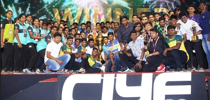 The Chennai International Youth Fest ends in a Grand Gala Event