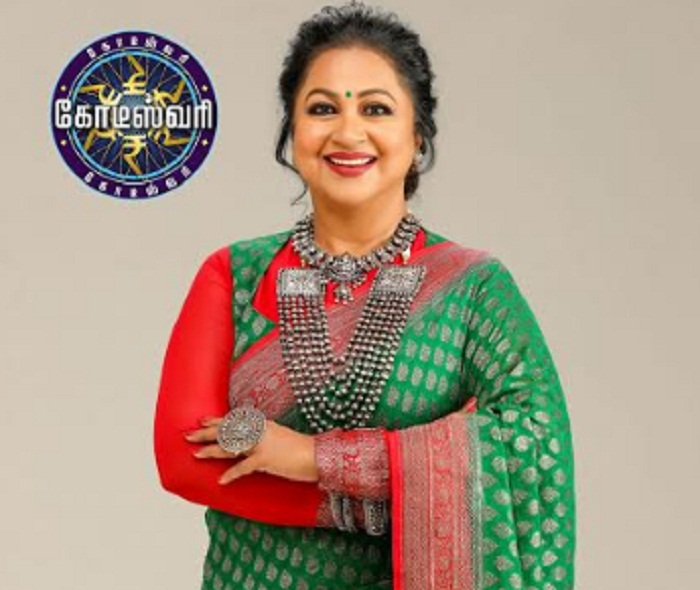 COLORS Tamil ropes in mega star Radikaa Sarathkumar as the Host & Presenter of Kodeeswari