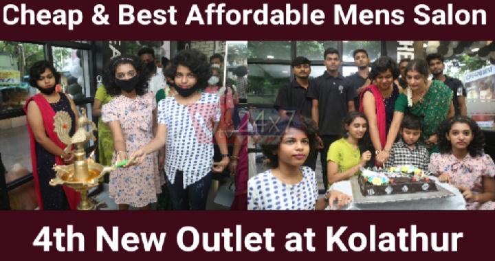 Cheap & Best Affordable Mens Salon 4th new outlet at Kolathur
