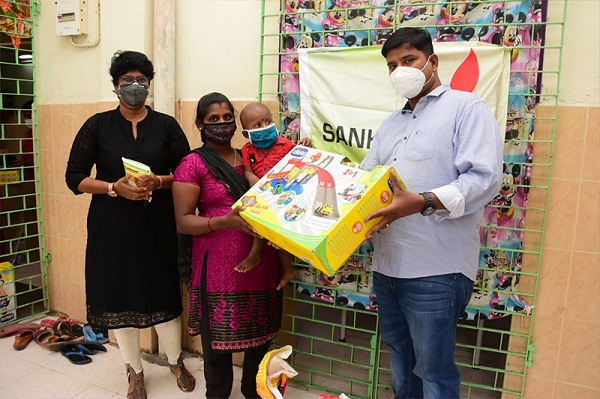 SANKALP BEAUTIFUL WORLD WITH CHILDREN'S WHO ARE UNDERGOING CANCER TREATMENT AT ICH, CHENNAI