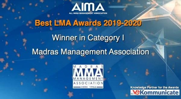 MMA Wins the Best Management Association Award