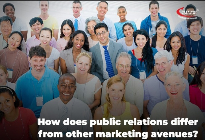 HOW DOES PUBLIC RELATIONS DIFFER FROM OTHER MARKETING AVENUES?