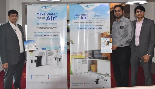 Airowater charts national and global expansion; Expands Tamil Nadu business on the back of high demand from the region
