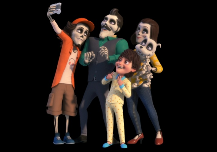 """WITNESS THE NEVER SEEN BEFORE BHOOTS WITH HUMANS IN THE UNIQUE SHOW """"Happy & Pinaki- The Bhoot Bandhus."""" on SONIC, MON-FRI 11.30am"""