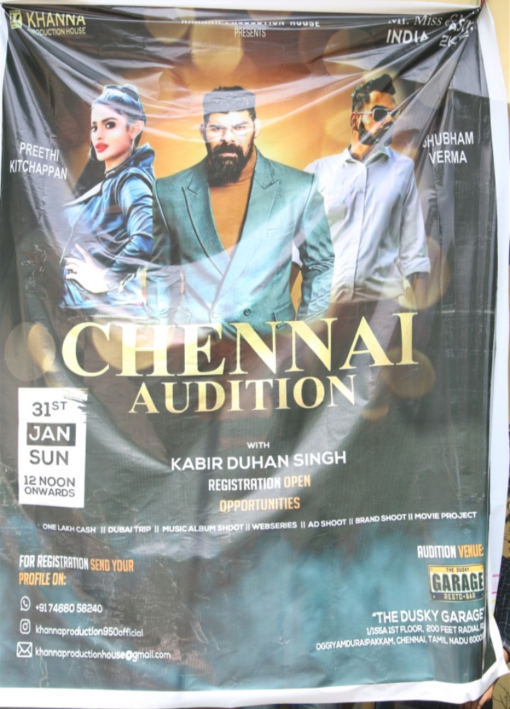 Chennai Auditions of Mr. Miss. & Mrs India Asia 2021 presented by Khanna Productions House at The DUSKY garage